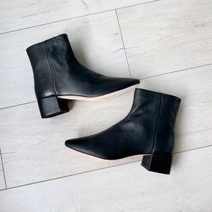NIB 🌟 Loeffler Randall Carter black leather boots